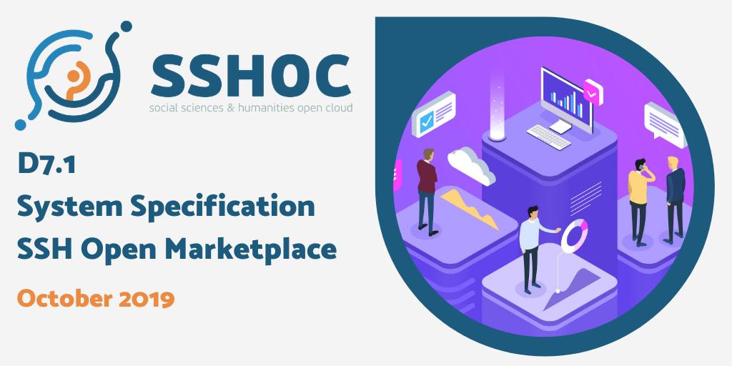 D7.1 System Specification - SSH Open Marketplace
