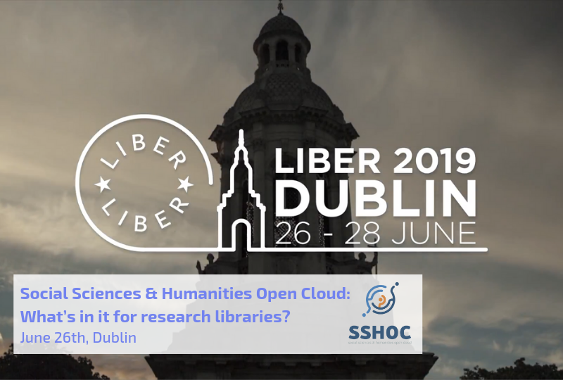 LIBER Annual Event Workshop - Social Sciences & Humanities